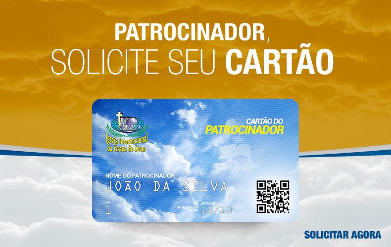 Cartão do Patrocinador